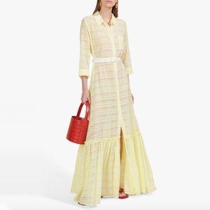 NWT Staud Rose Dress in Daffodil